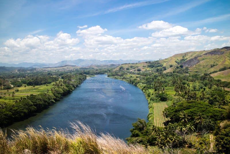 Vista della collina di Tavuni fotografia stock