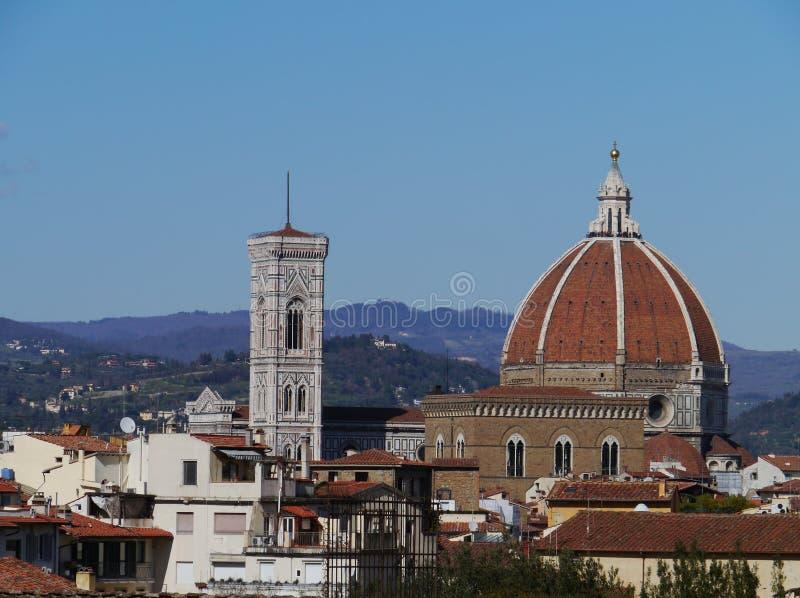Il duome di Firenze in Italia immagine stock