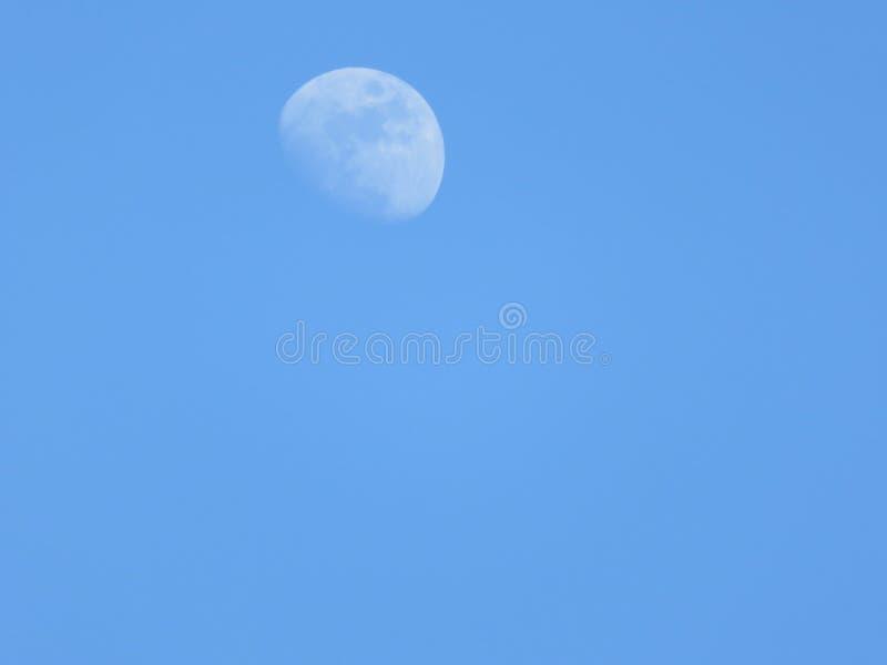 Vista della luna fotografia stock