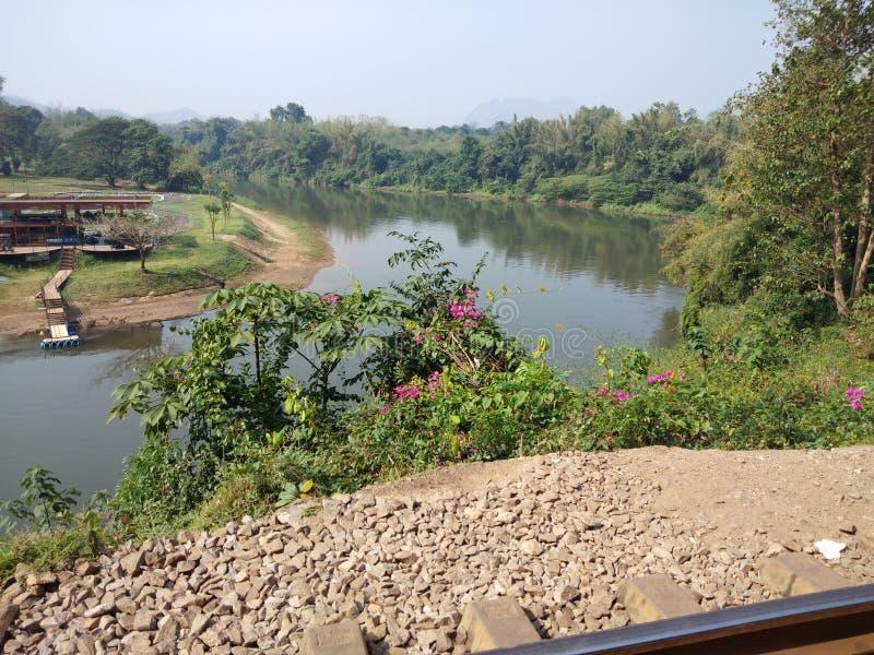 Vista della morte Railway2 fotografie stock