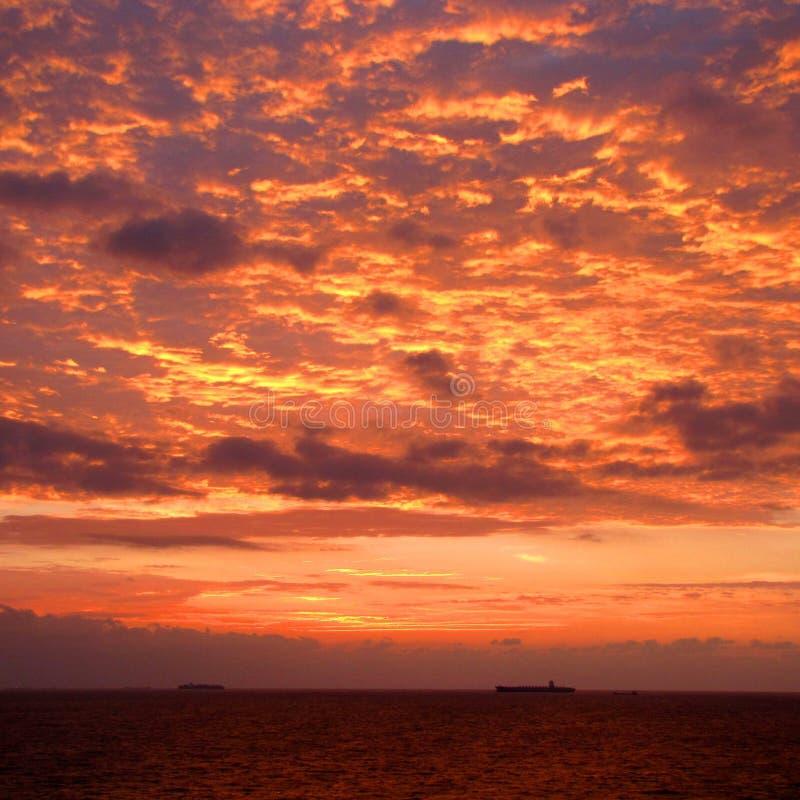Vista della nuvola al meglio fotografia stock libera da diritti