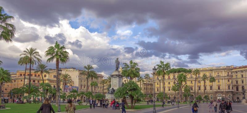 Vista della piazza Cavour a Roma immagine stock