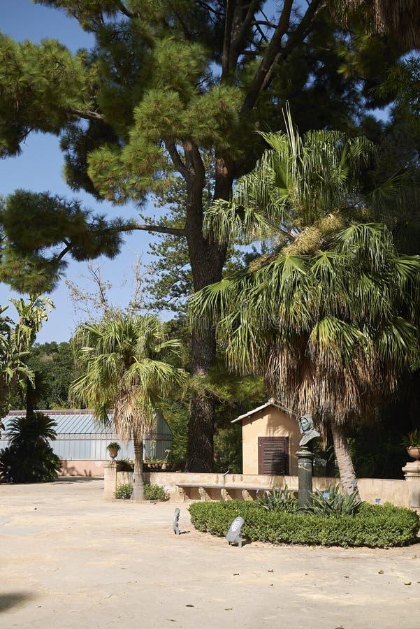 Vista della piazza Ucria fotografia stock libera da diritti