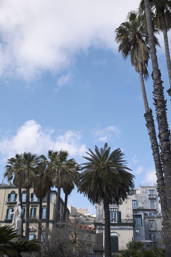 Vista della piazza Vittoria fotografie stock libere da diritti
