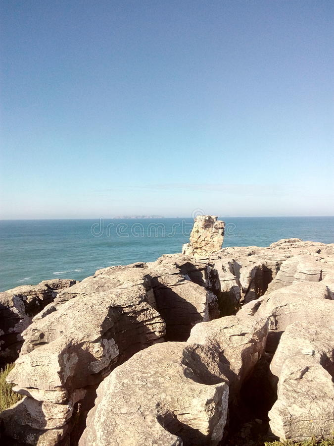 Vista della roccia fotografie stock