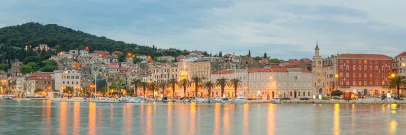 Vista della spaccatura, Croazia fotografie stock libere da diritti
