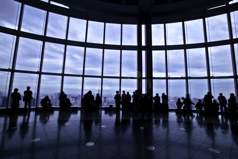 Vista della torretta di Mori fotografia stock libera da diritti