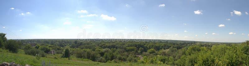 Vista delle colline immagini stock libere da diritti