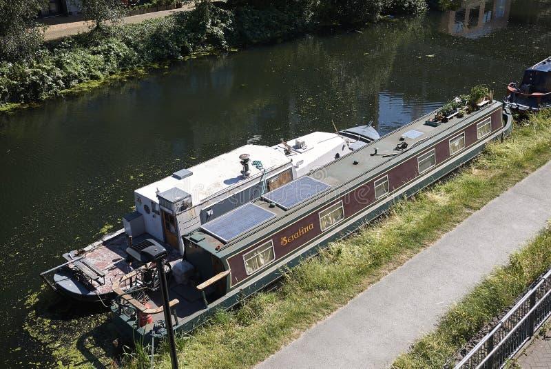 Vista dello stoppino di Hackney fotografia stock