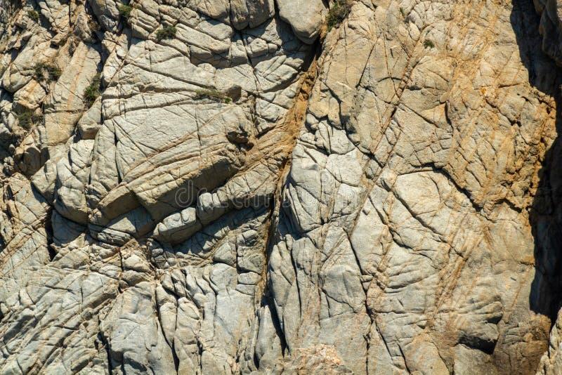 Vista detallada de rocas talladas fotografía de archivo libre de regalías