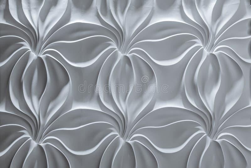 Vista dettagliata bella di fascino del primo piano del fondo decorativo interno della parete     parete immagini stock