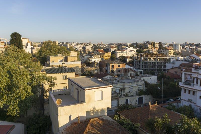 Vista di Algeri immagini stock