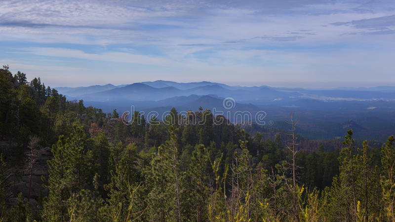 Vista di Black Hills fotografia stock libera da diritti
