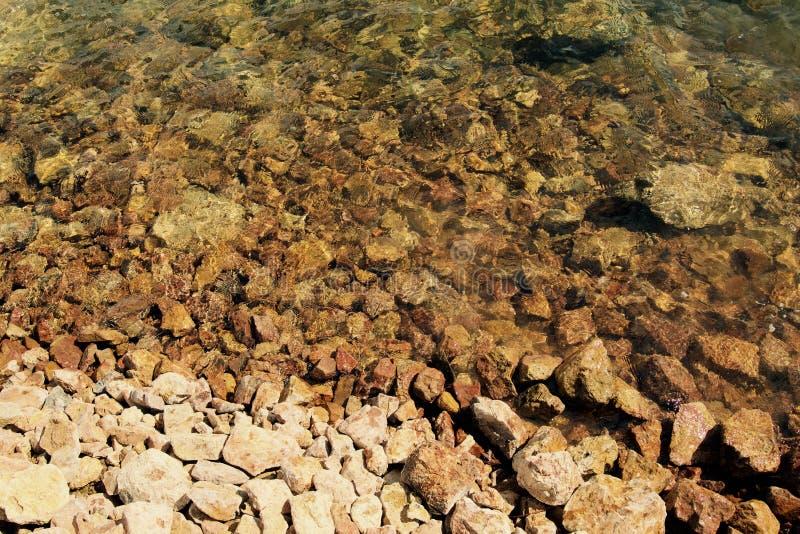 Vista di Brown Rocks fotografia stock libera da diritti