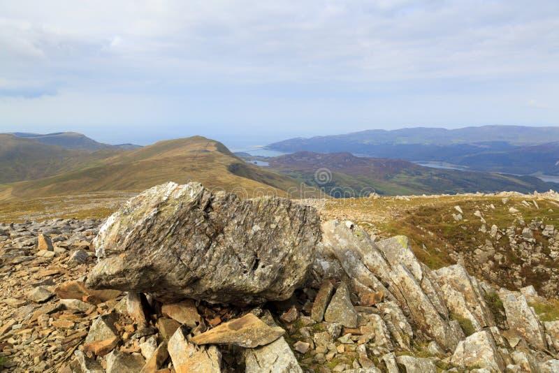 Vista di Cadair Idris fotografia stock libera da diritti
