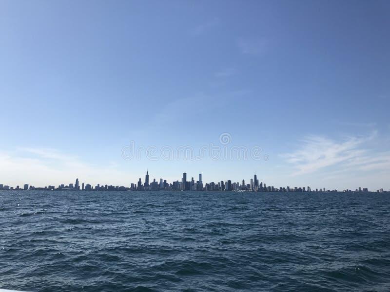 Vista di Chicago fotografia stock