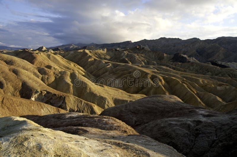 Vista di Death Valley fotografie stock