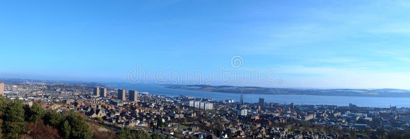 Vista di Dundee fotografia stock