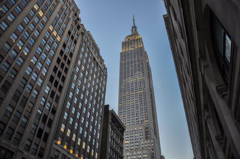 Vista di Empire State Building immagine stock libera da diritti