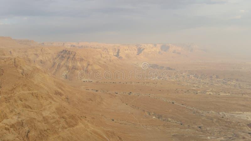 Vista di fascino del deserto immagine stock libera da diritti
