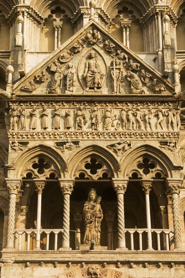 Vista di Ferrara immagine stock