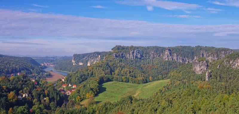Vista di Gamrig della montagna fotografia stock libera da diritti