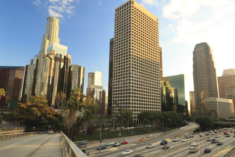Vista di giorno di Los Angeles immagini stock libere da diritti