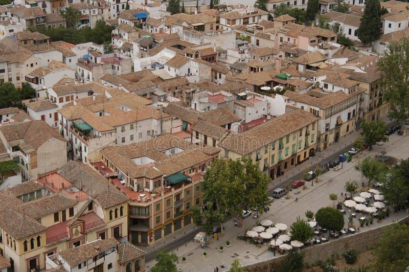 Vista Di Granada Immagini Stock Libere da Diritti