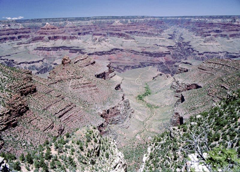 Vista di Grand Canyon in Arizona fotografia stock libera da diritti