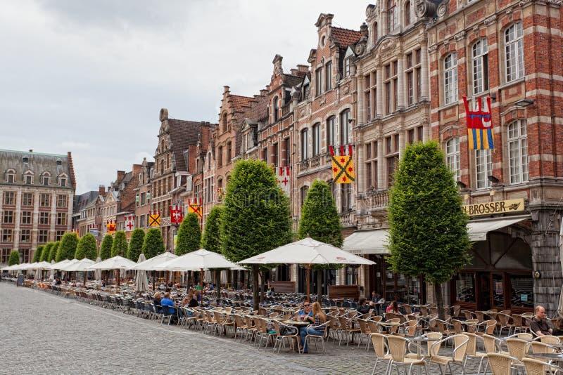 Vista di Grote quadrato Markt immagini stock