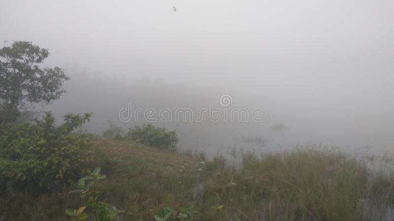 Vista di Hillside fotografia stock libera da diritti
