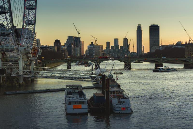 Vista di Londra 4 fotografia stock