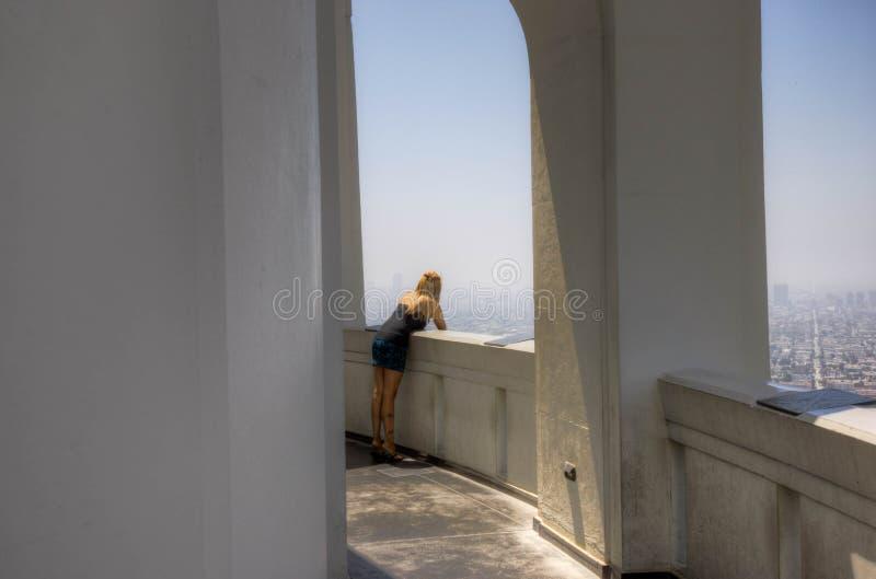 Vista di Los Angeles immagine stock libera da diritti