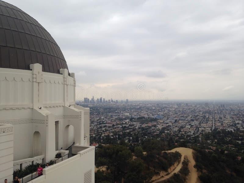 Vista di Los Angeles immagine stock