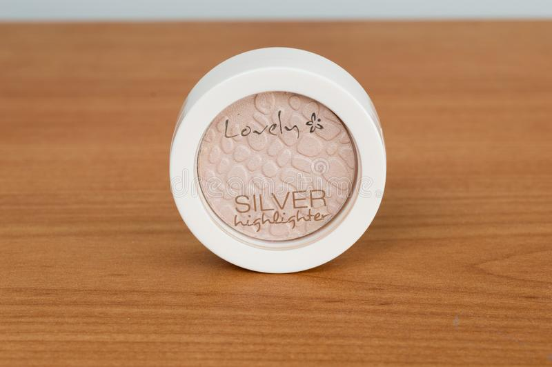 Vista di Lovely, Silver Highlight immagini stock