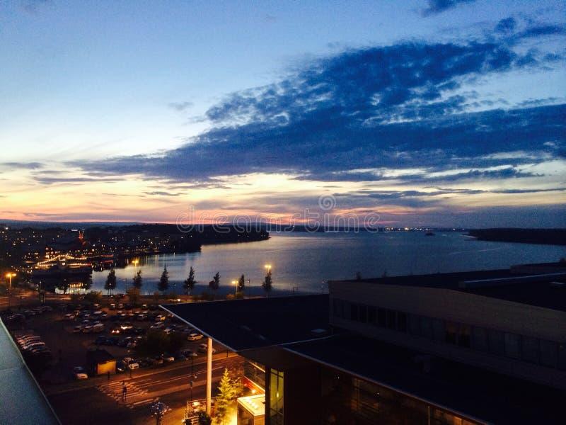 Vista di Luleå immagine stock libera da diritti