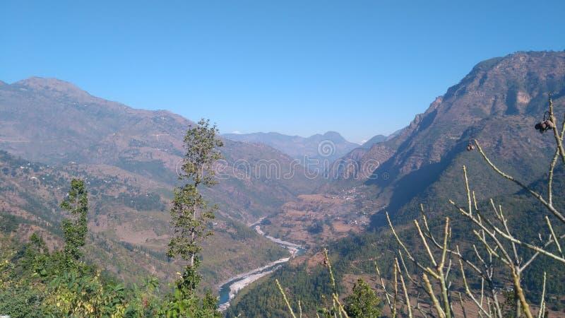 Vista di Mauntain fotografie stock libere da diritti