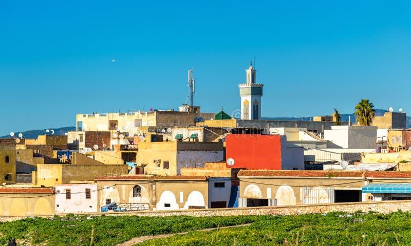 Vista di Meknes nel Marocco fotografia stock libera da diritti