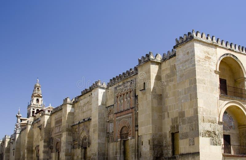 Vista di Mezquita fotografia stock libera da diritti