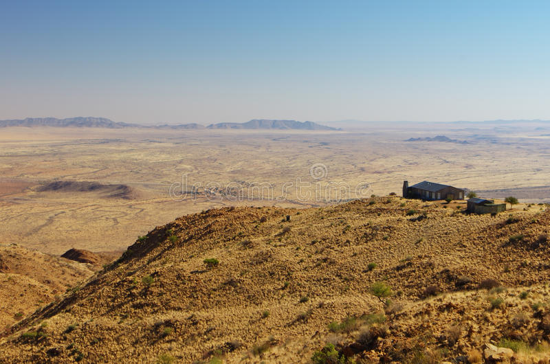 Vista di Namib-Naukluft fotografia stock