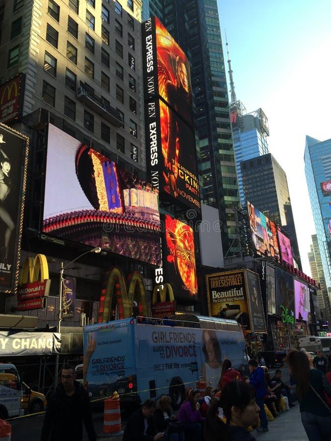 Vista di New York immagini stock