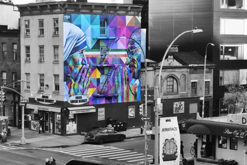 Vista di New York HighLine immagini stock