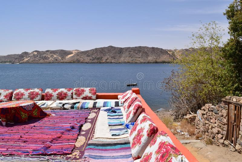 Vista di Nubian immagine stock