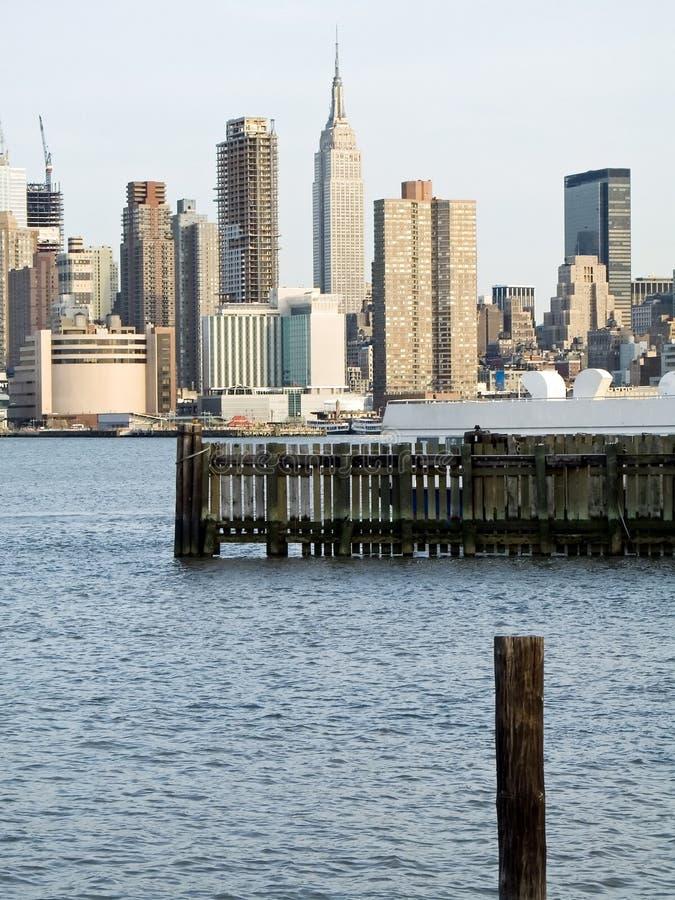 Vista di NY fotografie stock libere da diritti