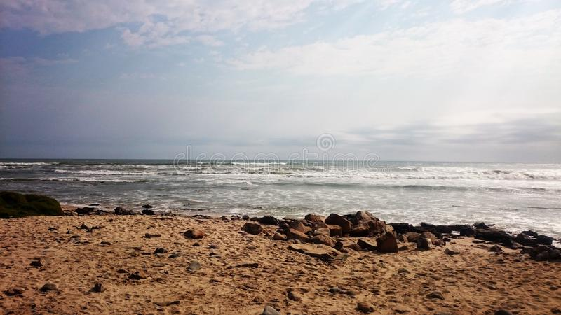 Vista di oceano immagini stock