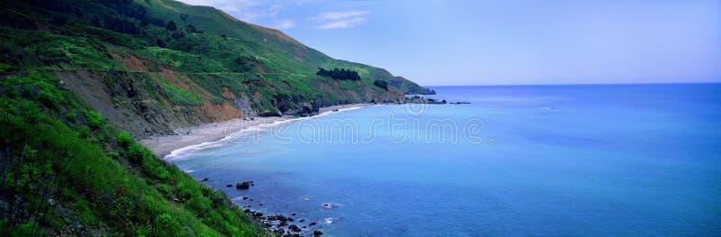 Vista di oceano della California immagine stock libera da diritti