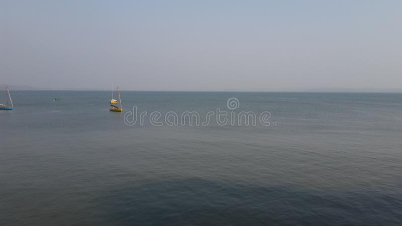 Vista di oceano di Goa fotografia stock libera da diritti