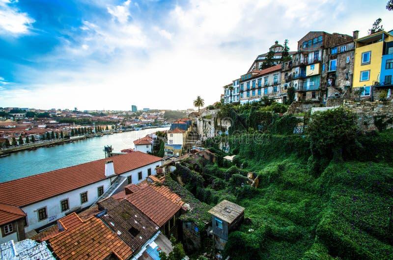 Vista di Oporto fotografie stock libere da diritti