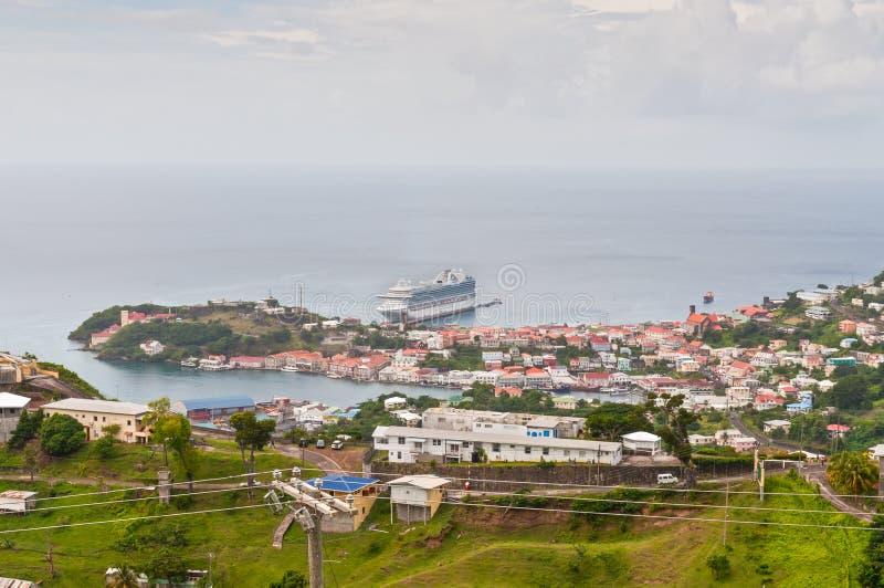Vista di panorama sopra San Giorgio immagini stock libere da diritti