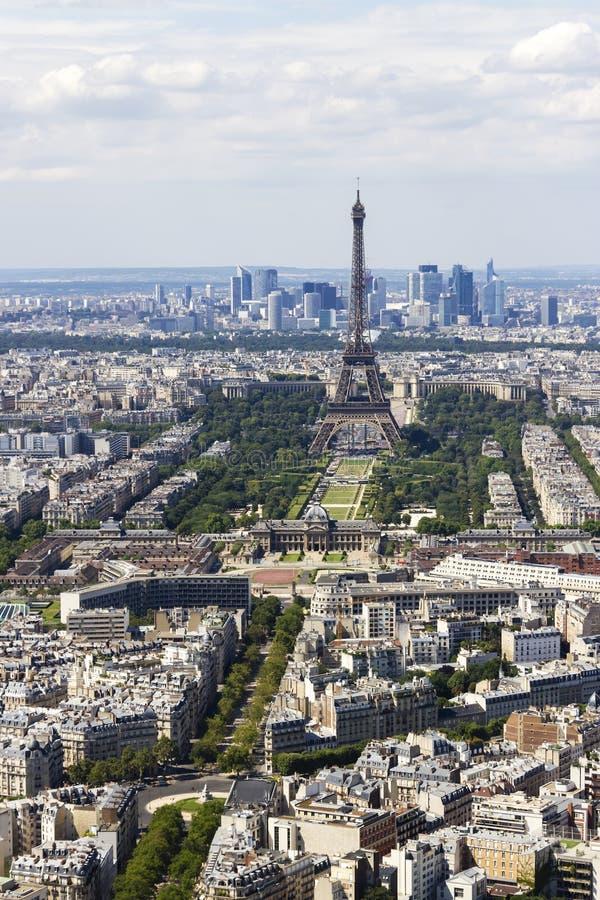 vista di Parigi, Francia da Montparnasse immagini stock